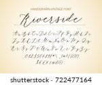 Riverside   Handwritten Script...