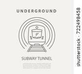 vector subway turnstile icon or ... | Shutterstock .eps vector #722498458