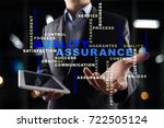 quality assurance concept on... | Shutterstock . vector #722505124
