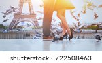 romantic travel background... | Shutterstock . vector #722508463