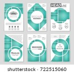 abstract vector layout... | Shutterstock .eps vector #722515060