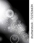 glittery lights silver abstract ... | Shutterstock . vector #722526634