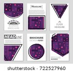 abstract vector layout... | Shutterstock .eps vector #722527960