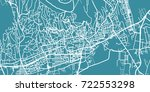 detailed vector map of p cs ... | Shutterstock .eps vector #722553298