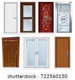 front and interior doors. for... | Shutterstock .eps vector #722560150