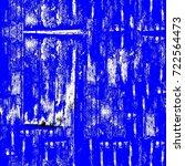 grunge blue seamless pattern.... | Shutterstock . vector #722564473
