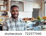 portrait of a handsome young...   Shutterstock . vector #722577340