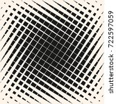 vector halftone geometric... | Shutterstock .eps vector #722597059