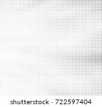 abstract halftone background... | Shutterstock .eps vector #722597404