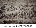 xian  china   may 11  2017  ...   Shutterstock . vector #722605888