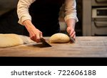 food cooking  baking and people ...   Shutterstock . vector #722606188