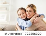 people and family concept  ... | Shutterstock . vector #722606320
