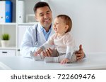 medicine  healtcare  pediatry... | Shutterstock . vector #722609476
