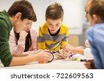 education  children  technology ... | Shutterstock . vector #722609563