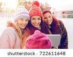people  friendship  technology  ... | Shutterstock . vector #722611648