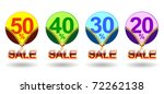 price tags | Shutterstock .eps vector #72262138