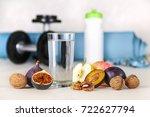 healthy lifestyle concept. diet ... | Shutterstock . vector #722627794