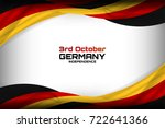 Flag of Germany Background for Independence Day and other events, Vector illustration Design