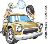 sign of air for car wheels   Shutterstock .eps vector #72264355