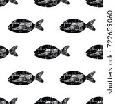 Pattern With Fish. Scandinavian ...