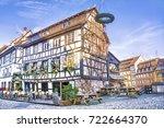 strasbourg  france   december... | Shutterstock . vector #722664370