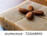 Semolina Halva With Almonds Cut ...
