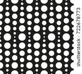 blended circles seamless... | Shutterstock .eps vector #722678773