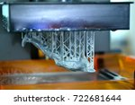 stereolithography dpl 3d... | Shutterstock . vector #722681644