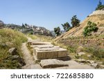 View Of The Kidron Valley And...