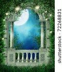 Fantasy Window With Fairy...