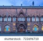 edinburgh  scotland   july 30 ... | Shutterstock . vector #722696710
