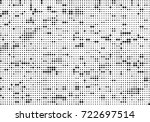 halftone black and white.... | Shutterstock .eps vector #722697514