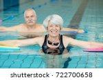 close up of elder couple doing... | Shutterstock . vector #722700658