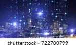 conceptual background image... | Shutterstock . vector #722700799