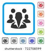 staff icon. flat iconic symbol...