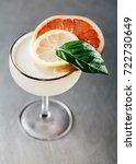 alcoholic drink in a martini... | Shutterstock . vector #722730649