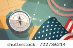 happy columbus day national usa ...   Shutterstock .eps vector #722736214