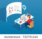 data analyst   Shutterstock .eps vector #722751163