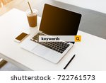 the concept of searching engine ... | Shutterstock . vector #722761573