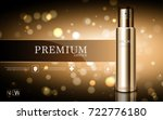 hydrating facial cream for... | Shutterstock .eps vector #722776180