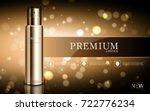 hydrating facial cream for... | Shutterstock .eps vector #722776234