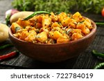 Indian Vegetarian Food  Aloo...