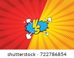 fight backgrounds comics style... | Shutterstock .eps vector #722786854