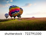 the balloons festival 2017 at... | Shutterstock . vector #722791330