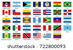 set of popular country flags.... | Shutterstock . vector #722800093