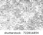 halftone black and white.... | Shutterstock .eps vector #722816854