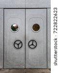 Ship Internal Metal Door