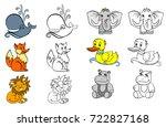 vector illustration of a... | Shutterstock .eps vector #722827168