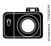 camera photographic isolated... | Shutterstock .eps vector #722828194