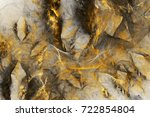 abstract colorful chaotic... | Shutterstock . vector #722854804